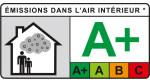 Наивысшее качество воздуха в помещении согласно нормам VOC A+ (концентрация летучих органических соединений в помещении)